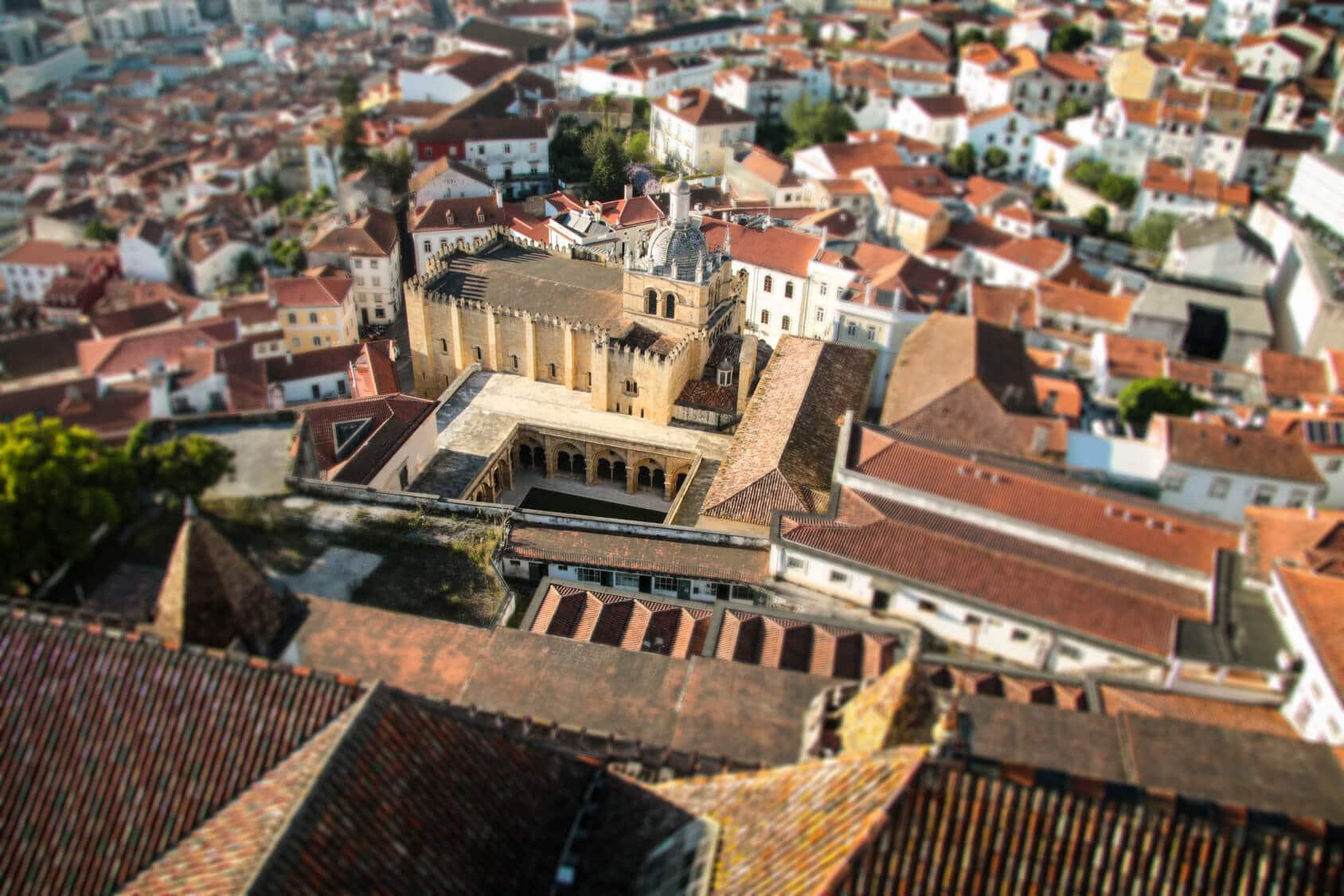 Visitas Guiadas Coimbra: Vista de Coimbra Cidade