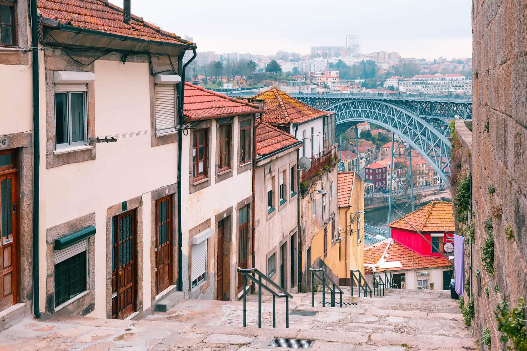 Circuito Lisboa Porto - Ruas do Porto