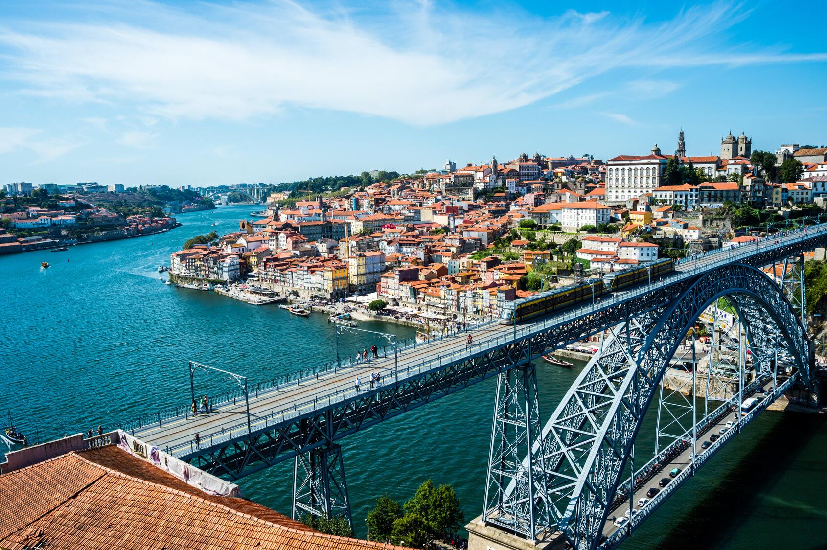 Circuito Lisboa Porto - Ponte no Porto