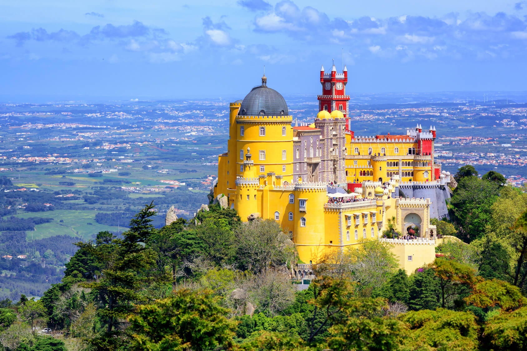 View of Sintra´s Beauty