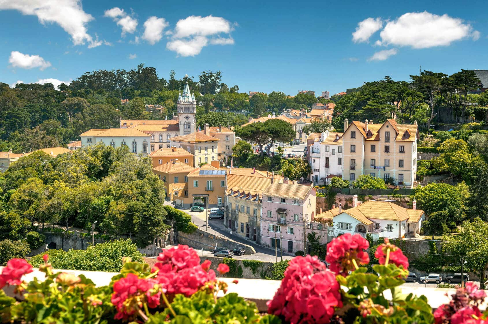 View of Sintra´s Houses