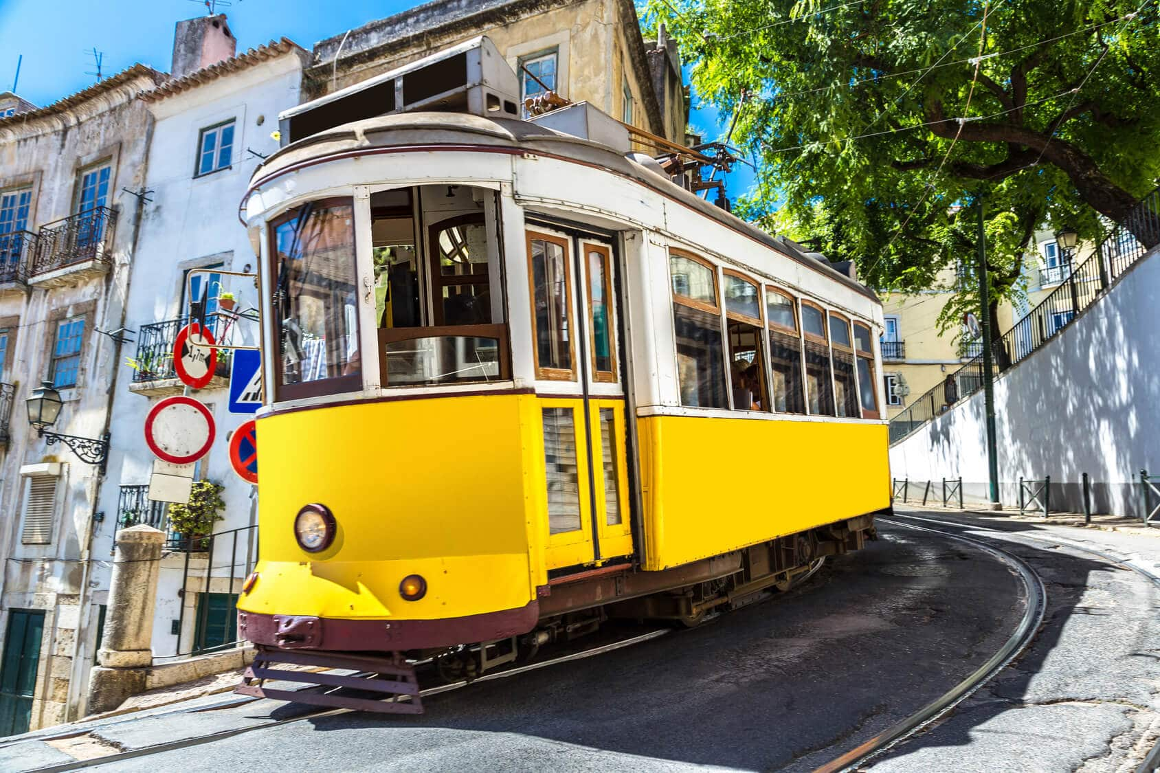 Circuito Lisboa, Sintra, Fátima : Eléctrico Centro de Lisboa