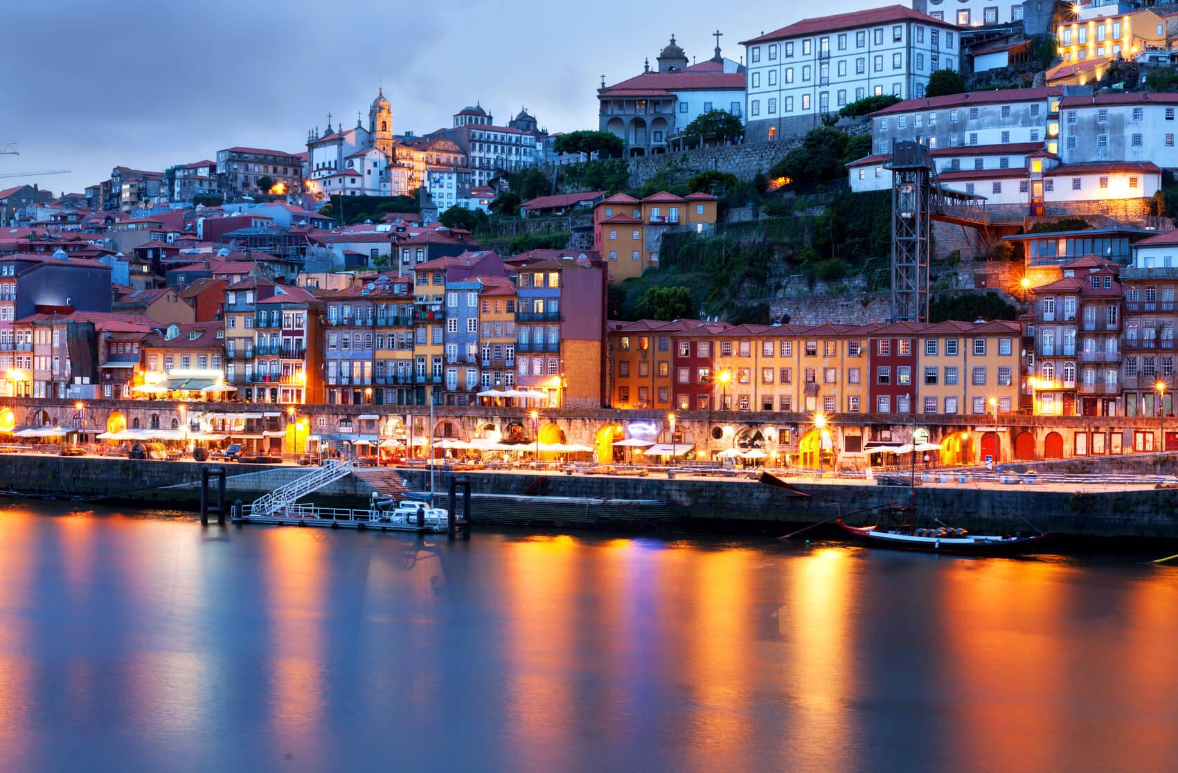 Visitas Guiadas Santiago de Compostela e Porto: Porto à Noite