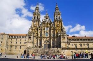 Visitas Guiadas Santiago de Compostela e Porto: Praça em Santiago de Compostela