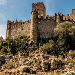 Tour Tomar and Almourol Castle - Knight Templars Route
