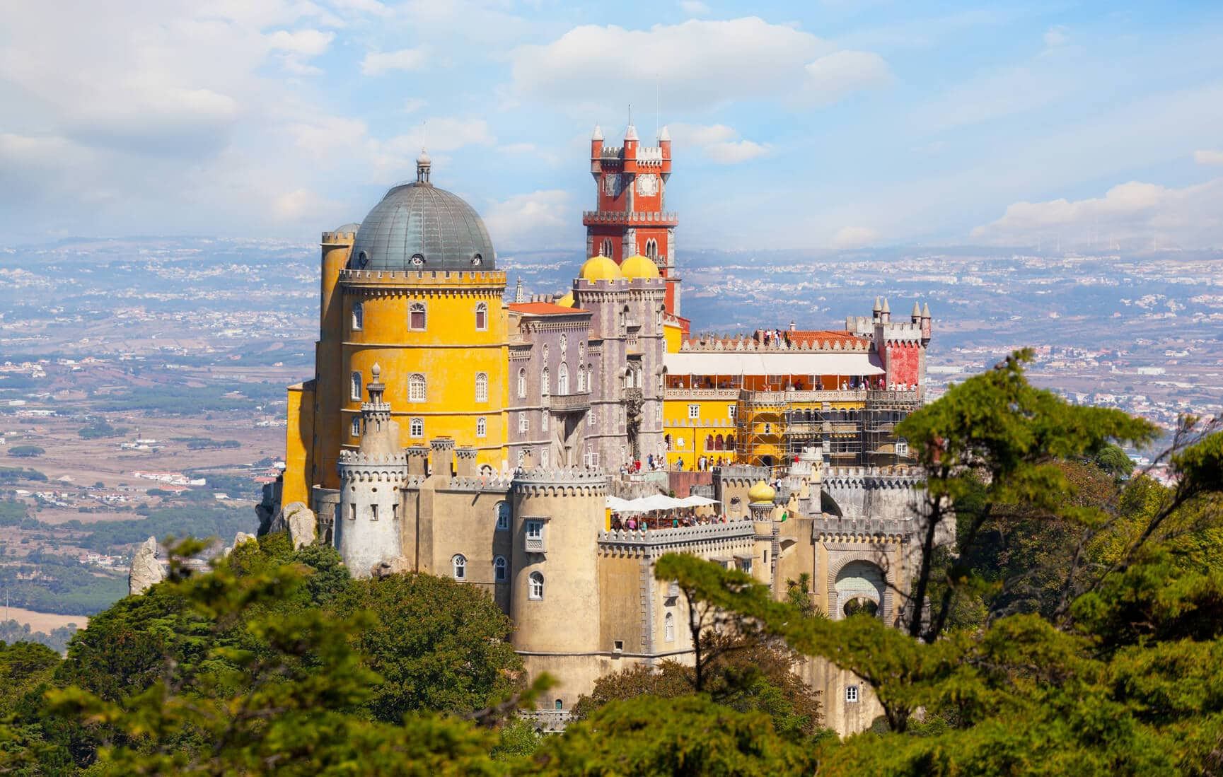 Portugal in 6 Days circuit: Sintra