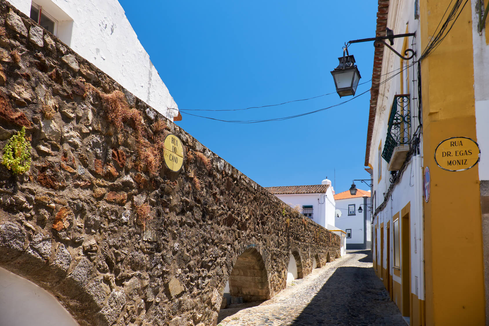 Typical Portuguese Town